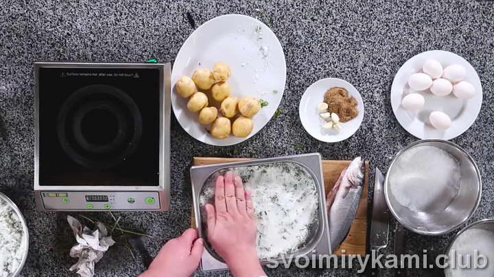 рыба в соли в духовке быстрый рецепт