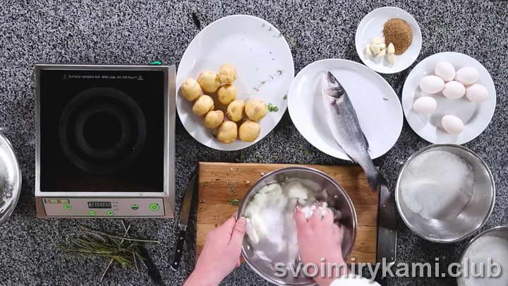 рыба в соли в духовке пошаговый рецепт с фото