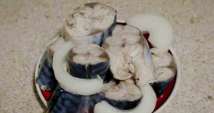 Сагудай из скумбрии — нежное и сочное блюдо