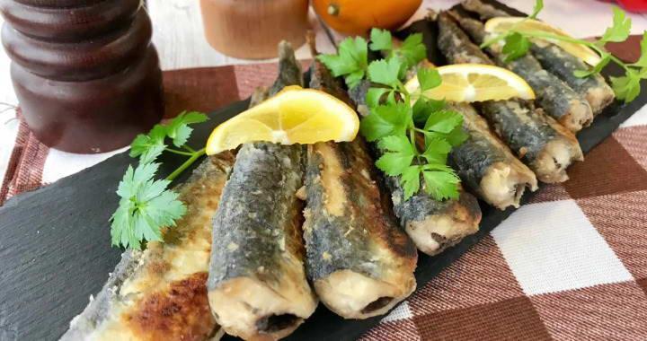 Жареная салака на сковороде — вкусный рецепт приготовления