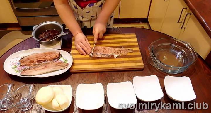 сельдь по корейски рецепт с фото