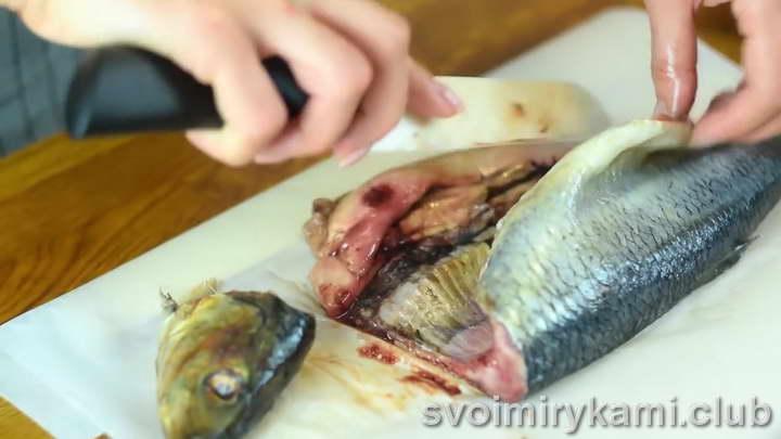 сельдь в духовке рецепт с фото