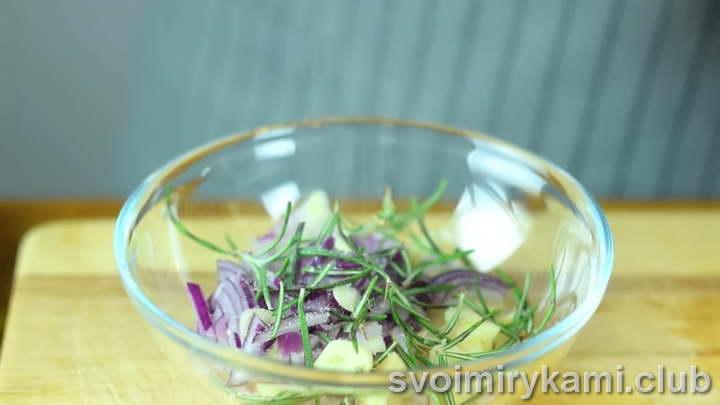 сельдь в духовке быстрый рецепт