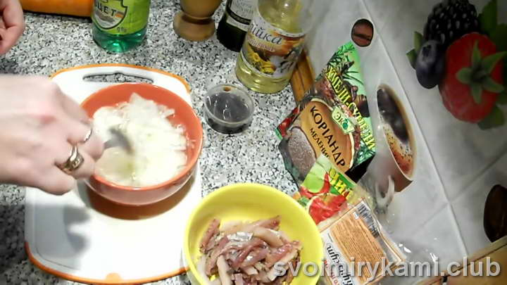 селедка хе рецепт пошагово