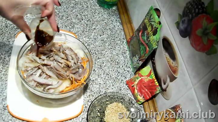селедка хе рецепт под соусом