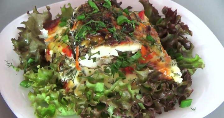 Запеченная щука с овощами в духовке — рецепты рыбы по-вятски