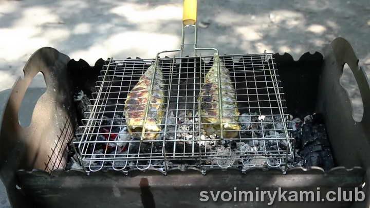 скумбрия на гриле как приготовить