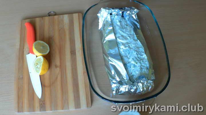 скумбрия с овощами в духовке фото рецепт