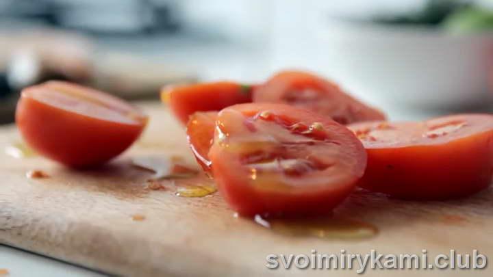 стейк из семги на сковороде как приготовить