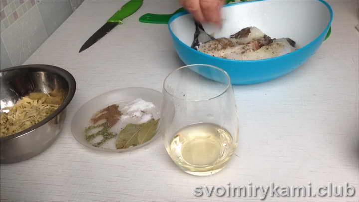 стейк зубатки в духовке как приготовить