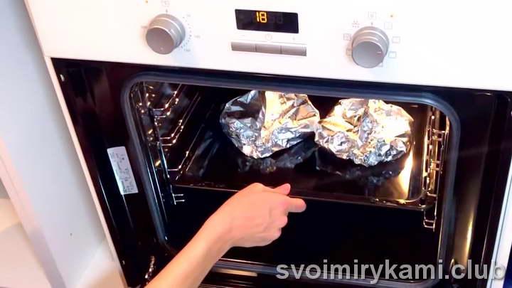 стейки семги в духовке рецепт с фото