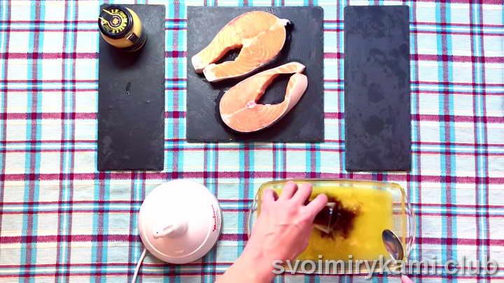 стейки семги в духовке лучшие рецепты