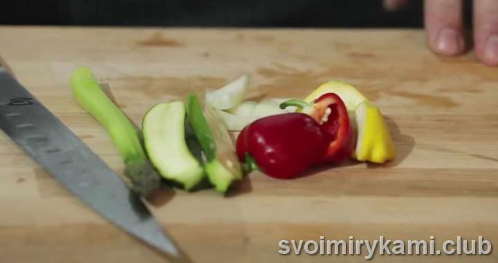 стерлядь рецепт с овощами