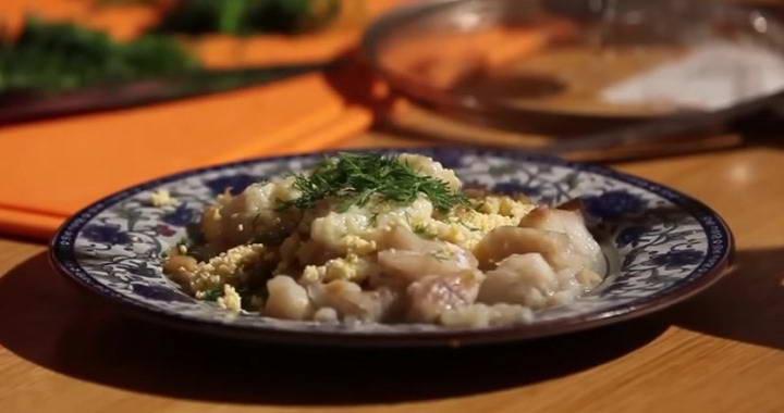 Судак по-польски — очень нежный и вкусный поморский рецепт