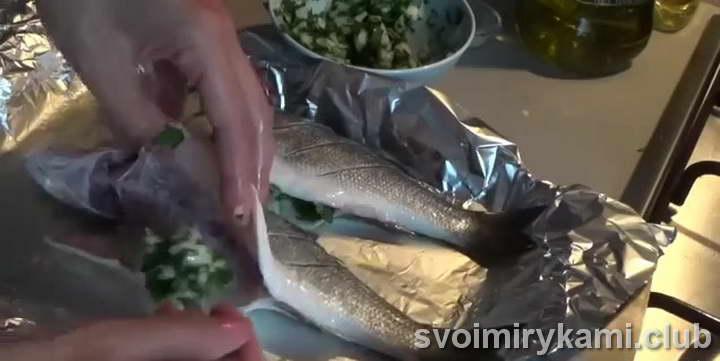 судак в духовке в фольге быстрый рецепт