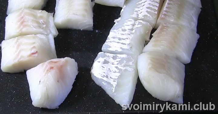 треска в духовке рецепты с фото