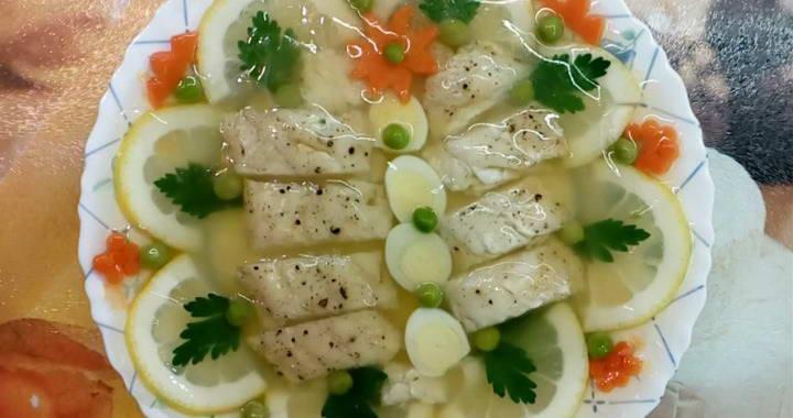 Вкусное заливное из судака — пошаговый рецепт праздничного блюда