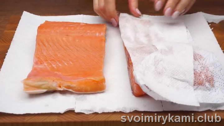 простая засолка красной рыбы