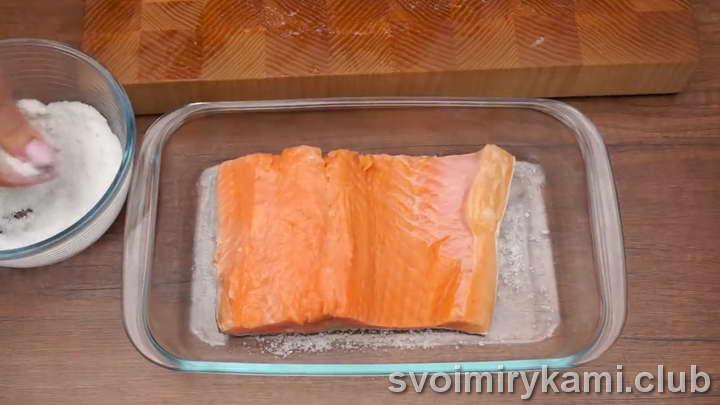 засолка красной рыбы рецепты с фото