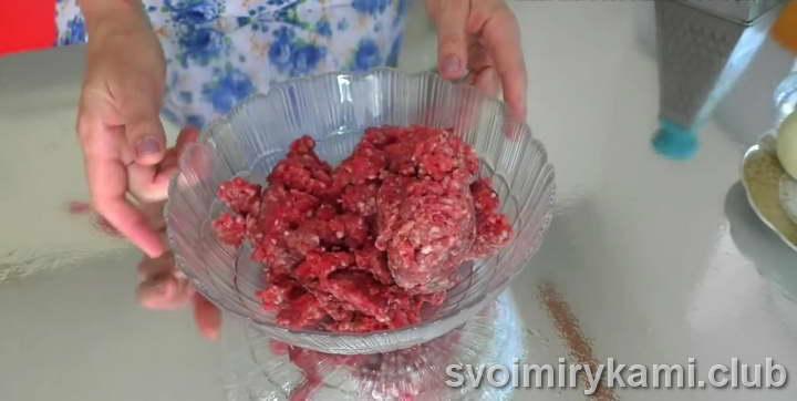 беляши с мясом на кефире рецепт с фото