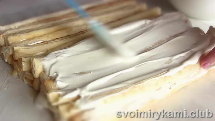 десерт из слоеного теста пошаговый рецепт с фото
