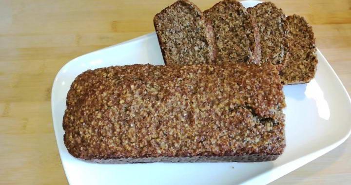 Хлеб с отрубями без муки, без дрожжей и без сахара — очень вкусно и полезно🍞