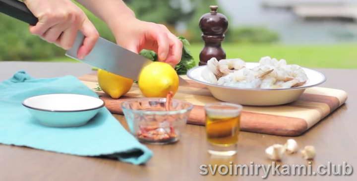 креветки на мангале рецепт