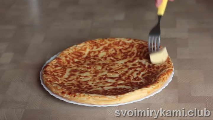 ленивый хачапури на сковороде легкий рецепт с фото