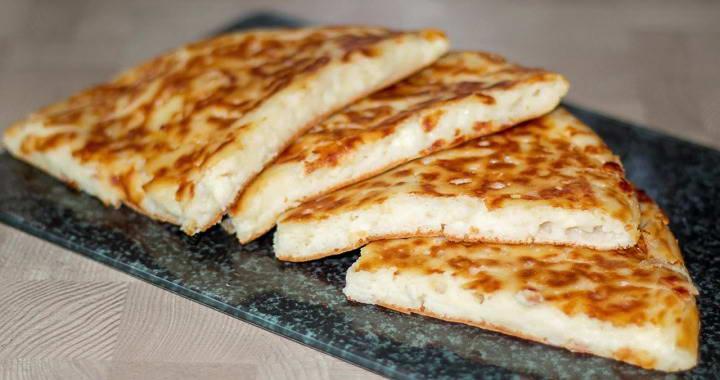 Ленивый хачапури на сковороде — очень вкусный и быстрый завтрак寧