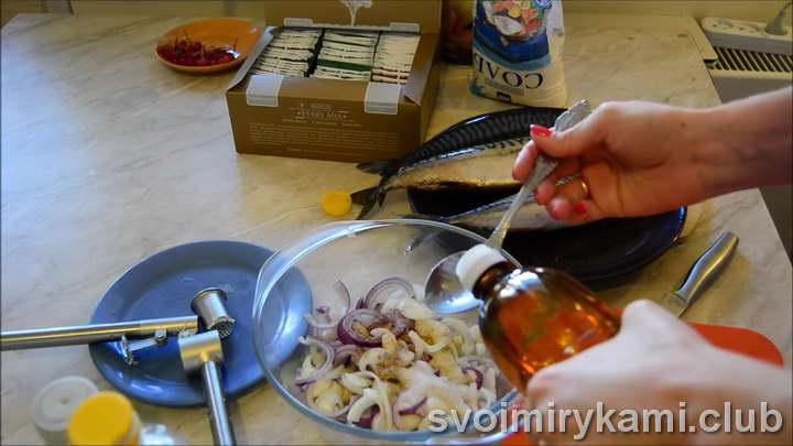 маринад для скумбрии легкий рецепт