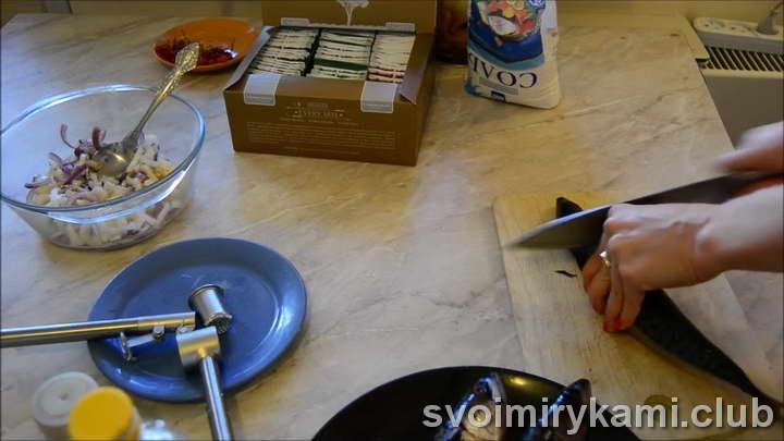 маринад для скумбрии легкий рецепт с фото