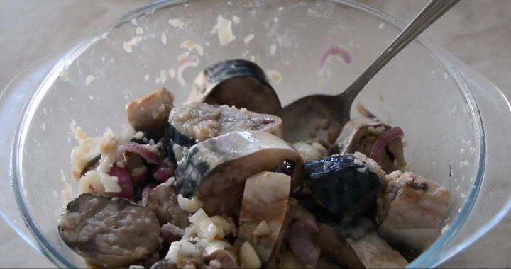 Невероятно вкусный маринад для скумбрии