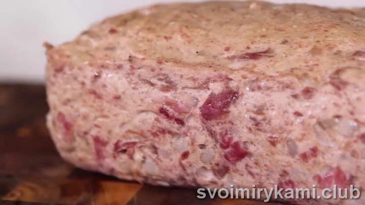 мясной хлеб рецепт вкусный с фото