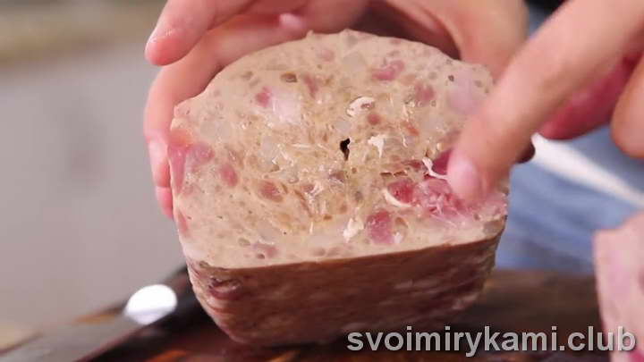 мясной хлеб рецепт видео
