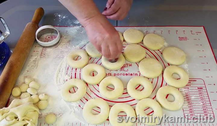 пончики на молоке рецепт приготовления с фото