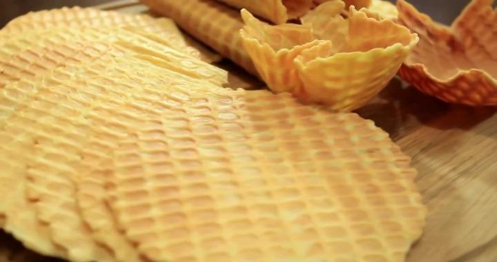 Рецепт хрустящих вафель на маргарине для приготовления в вафельнице丹