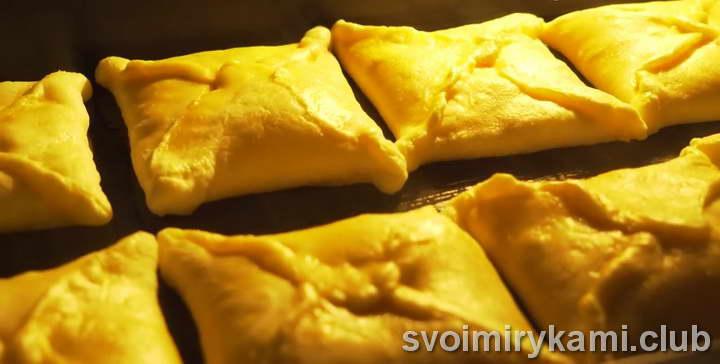 слоеное тесто с сыром рецепт приготовления