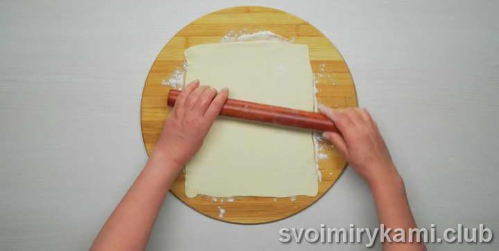 слоеное тесто с сыром простой рецепт