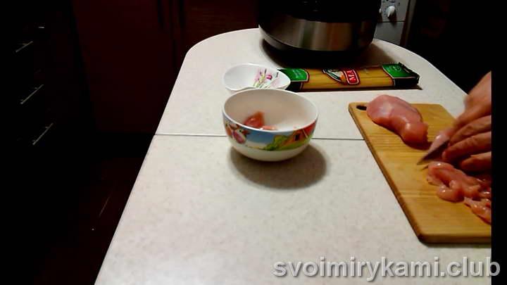спагетти в мультиварке рецепт с фото