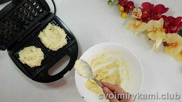 сырные вафли в вафельнице легкий рецепт