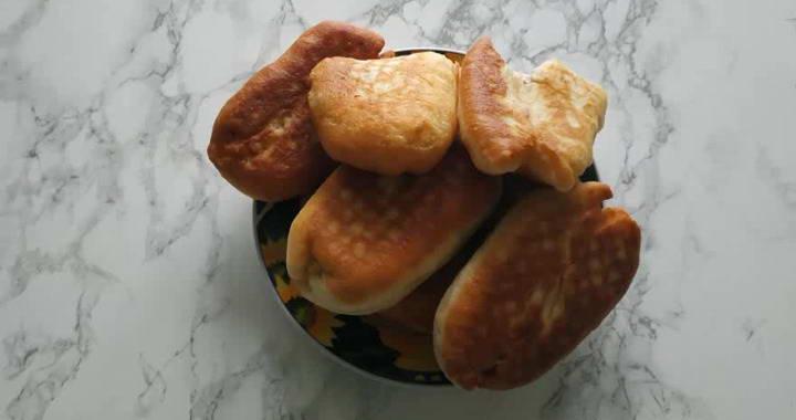 Вкусное и пышное дрожжевое тесто для беляшей寧