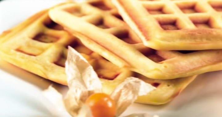 Вкусные бельгийские вафли — рецепт приготовления в мультипекаре Редмонд丹