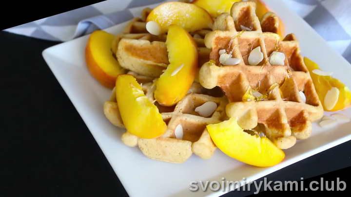 вафли в вафельнице пошаговый рецепт