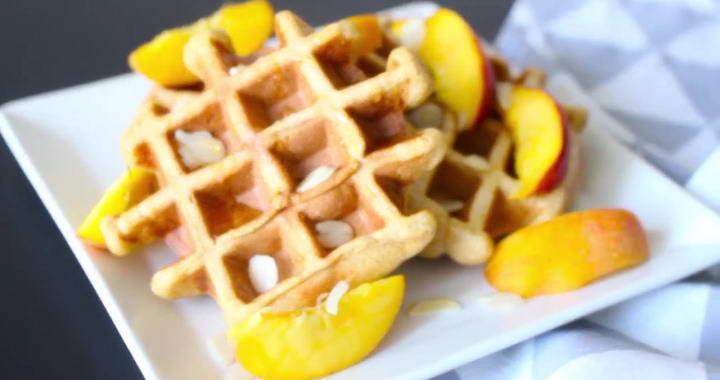 Вкусные вафли на завтрак — готовим в вафельнице丹