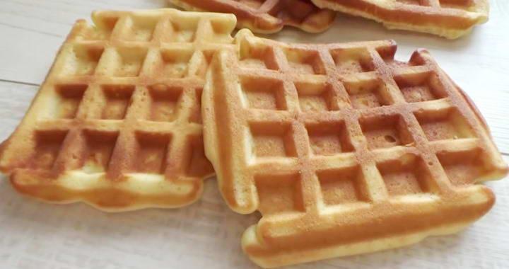Рецепты вкусных, мягких венских вафель