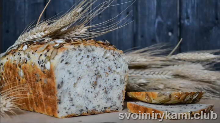 зерновой хлеб видео