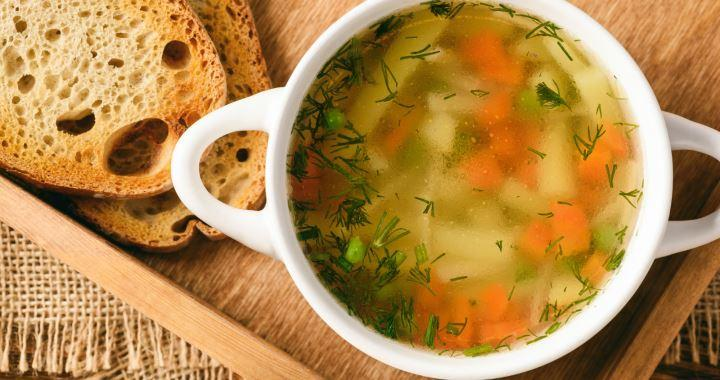 Вегетарианский овощной суп по простому пошаговому рецепту с фото🍲