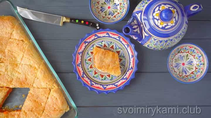 татарские пироги готовы