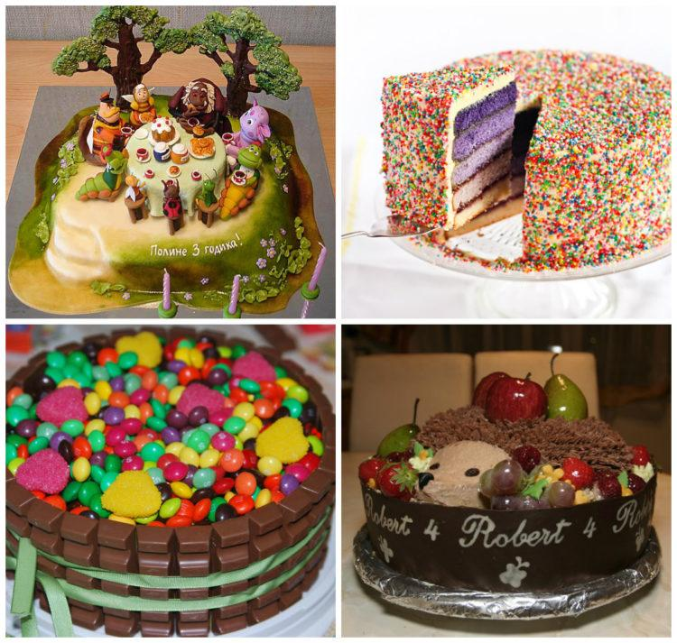 фото как украсить торт в домашних условиях