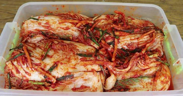 Рецепт острой кимчи из пекинской капусты по-корейски🥗